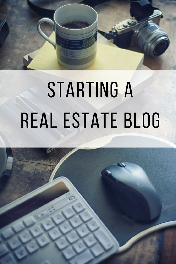 What are the Six C's to Starting a Real Estate Blog?