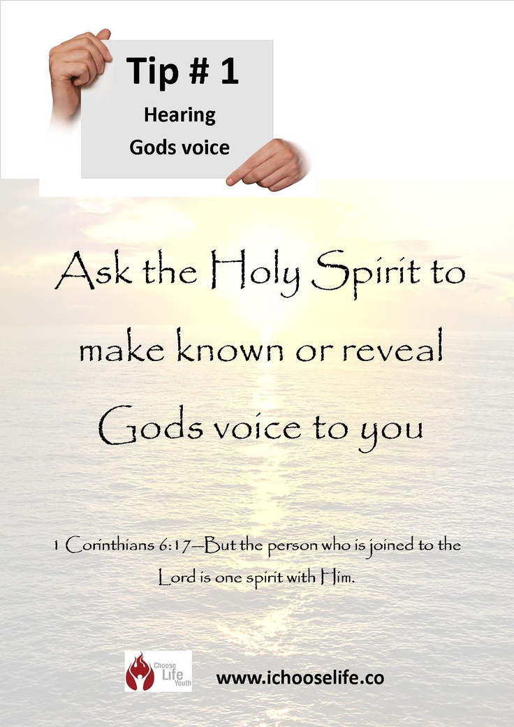 How can we recognize the voice of God? - GotQuestions.org