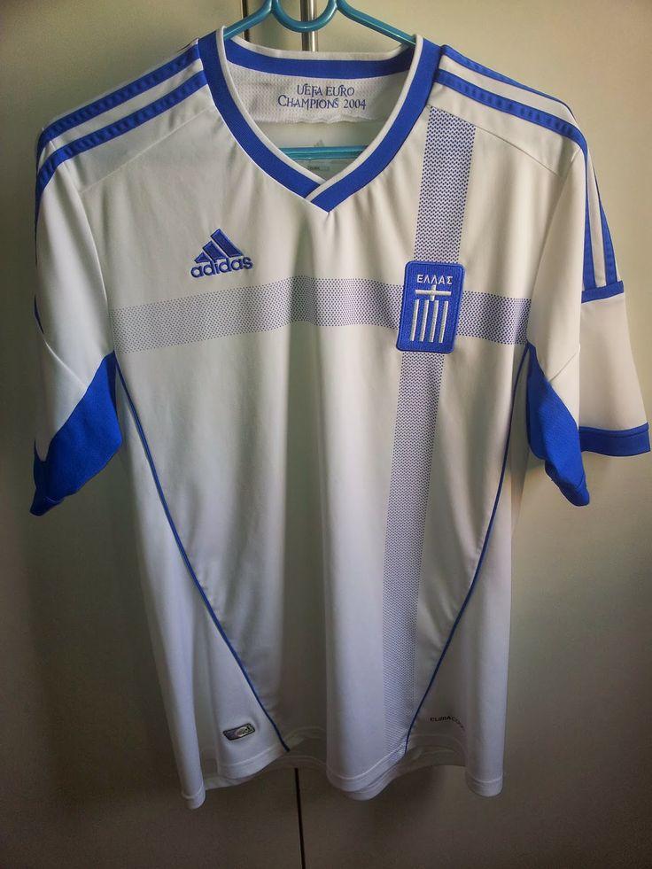 Minha coleção de camisa  Seleção da Grécia.