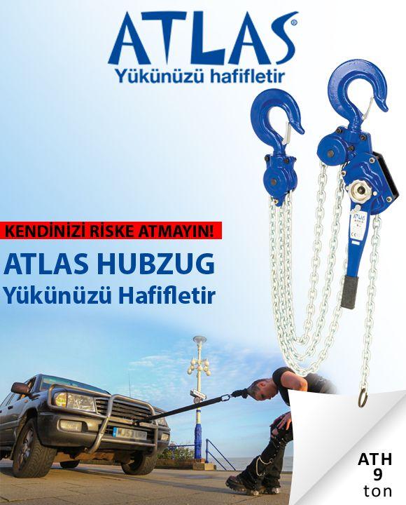 ATLAS HUBZUG ATH 9 model profesyonel yük çekme aracıdır. Hubzug 9 ton yük çekme kapasiteli yatay zincirli yük çektirmedir. Hubzug 1.5 metre zincir uzunluğuna sahiptir. Zincirli çektirme hubzug yüksek kalite güvencesi ile satışa sunulmaktadır. http://www.ozkardeslermakina.com/urun/hubzug-zincirli-cektirme-atlas-ath-9-ton-yan-cekme/ #atlas #hubzug #zincirlicektirme #hirdavat #ozkardeslermakina #manuelvinc
