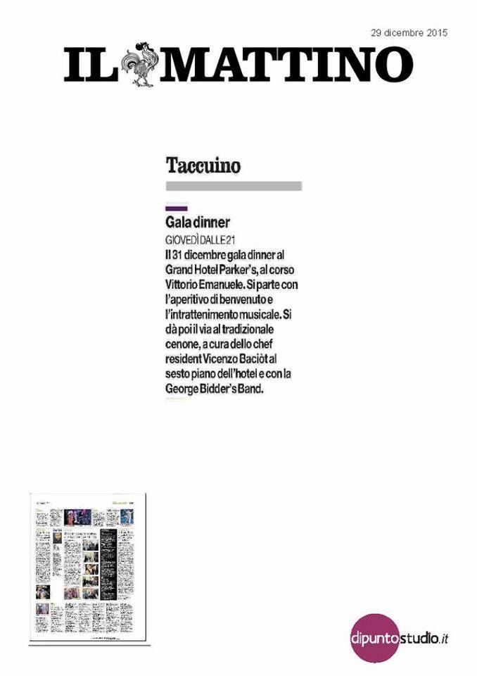 Si parla del Grand Hotel Parker's sui giornali, sulle pagine dei quotidiani locali e nazionali e sui magazine. #ufficiostampa Di Punto