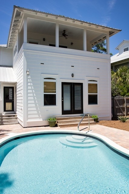 Seagrove Beach House Rental Affordable Private Home With Pool And Horseshoe Pit