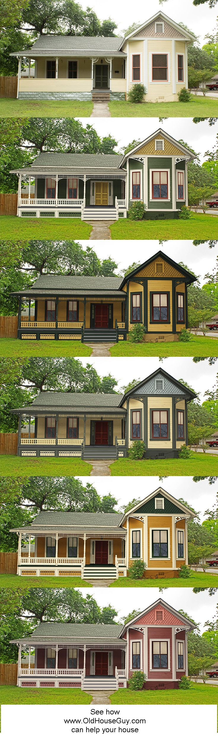 240 best Historic House Colors images on Pinterest | Color palettes ...