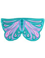 £15.50 - Green Fortune Fairy Wings Soft glittery fabric wings which would suit any forest meadow fairy! These wings are fantastical, they attach at the shoulders and thumbs with soft elastic loops, and don't have any metal or rods. This leaves the kids free to run and tumble, flapping their arms like they have real wings, giving them a fully immersive experience!  These wings are made to last, look great after multiple washes and fold up small to be taken anywhere.