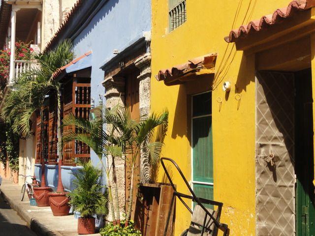 Auf ihrer #AIDA Reise erkundete sar die bunte #Altstadt von #Cartagena