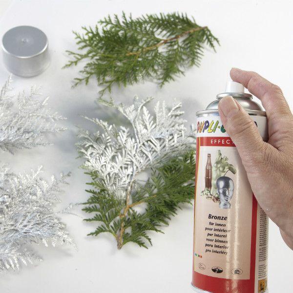 Silberzweige - Weihnachtliche Deko-Ideen | Projekte | Mach mal