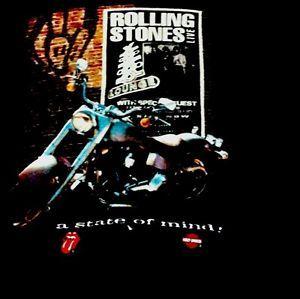Rolling Stones Voodoo Lounge /Harley Davidon 1994 Vintage Concert Shirt XL RARE  | eBay