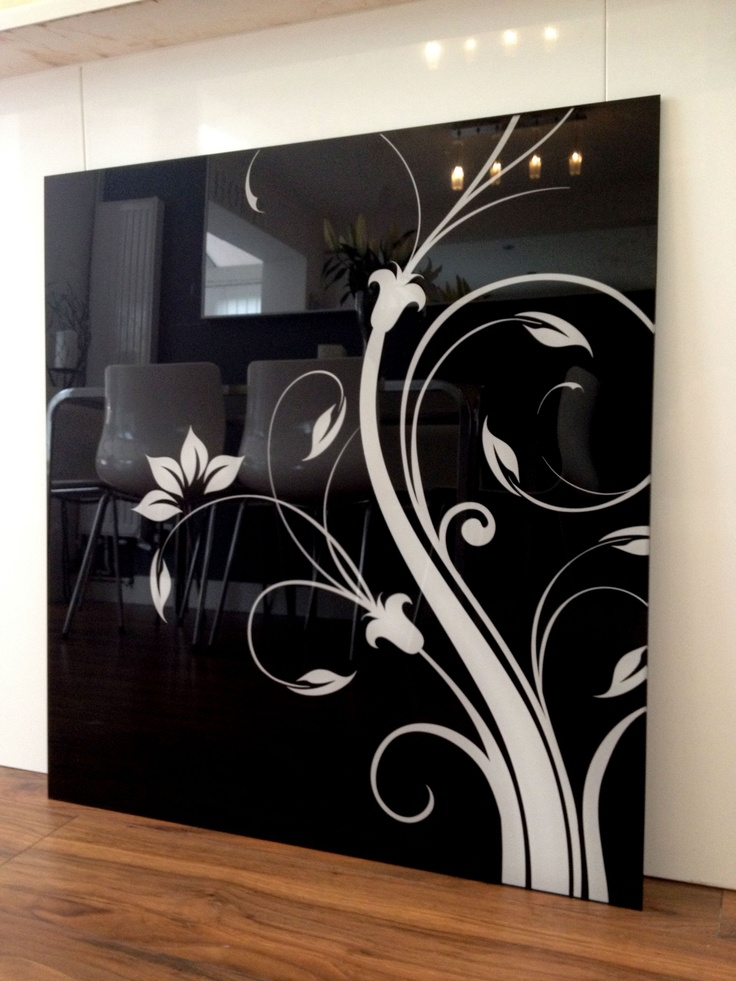 Our Natola Patterned Glass Splashbacks available for sale in our eBay store http://www.ebay.co.uk/itm/Glass-Splashback-60cm-x-75cm-Black-white-red-Natola-printed-pattern-/121073523392?pt=UK_Home_Cookware_Dinning_Glassware=item1c308b5ac0