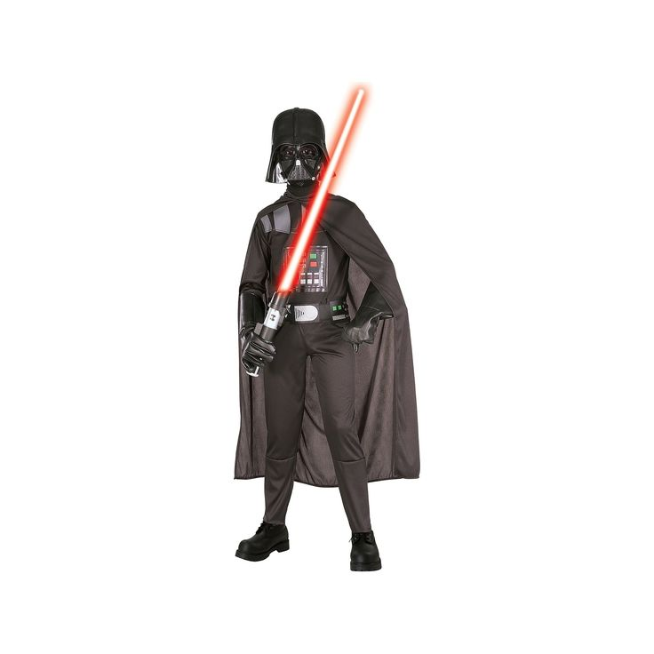 Star Wars Darth Vader Jumpsuit Costume - Kids, Boy's, Size: Medium, Black
