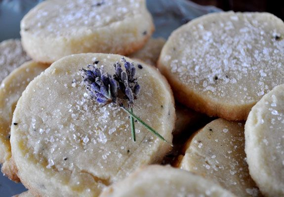 agentlewoman:    My favorite sweet to bake is either lavender cupcakes or short bread cookies. Here is a lovely recipe for the short bread. These cookies are buttery lavender perfection.
