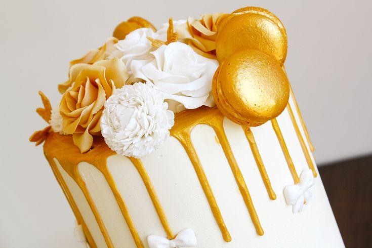Bruidstaarten » SweetUnique  chocolade ganache