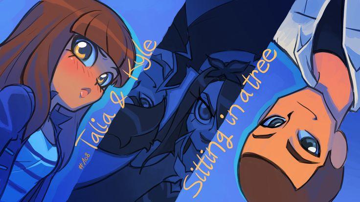 Az első évad, nyolcadik része Két Szerelmes Pár… Új fiú érkezett Sunny Bay-be, Kyle, aki egyből beleszeretett Taliába, ahogy Talia is belé. De Mephisto és Praxina bezárták Kyle-t egy kristályba, és egy alakváltót tettek a helyére. Szerencsére a lányok legyőzték az alakváltót és az ikreket, majd kiszabadították Kyle-t :-)