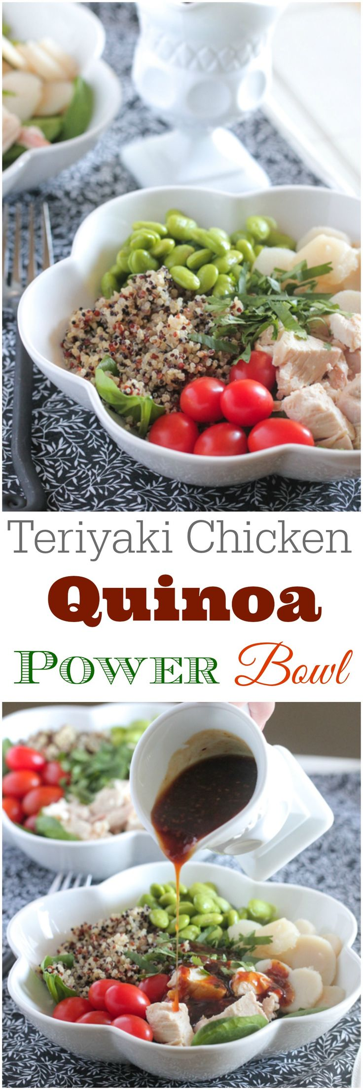 325 best easy healthy recipes images on pinterest recipes teriyaki chicken quinoa power bowl forumfinder Choice Image