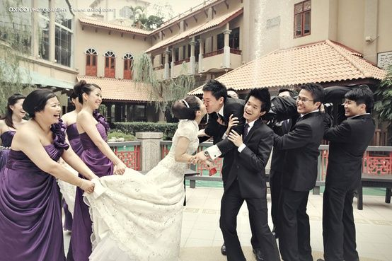 I wanna stage this kind of Photoshoot for my wedding. (: