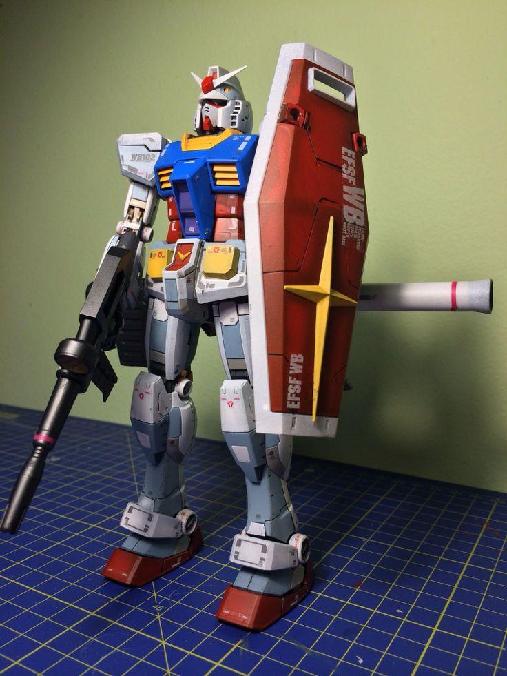 Bandai MG RX-78-2 Gundam Ver.3.0 - 3