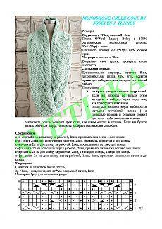 Las bufandas-snudy a la moda (Snood) por los rayos 5. Las ideas y описания.11 de los modelos