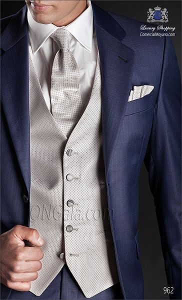 Traje de novio azul 962 ONGala Wedding suit
