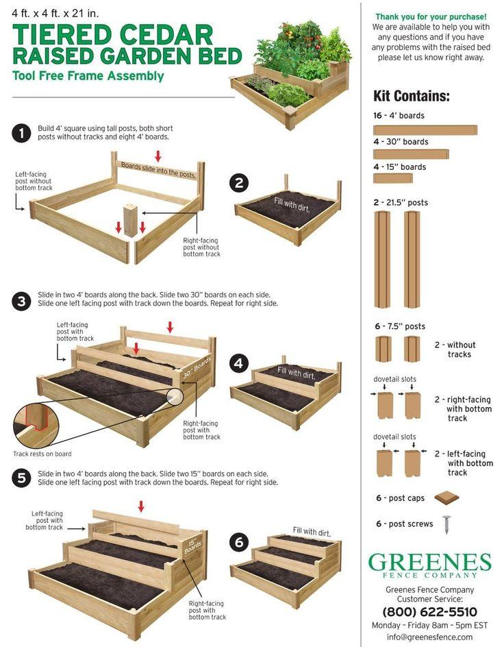 RaisedBeds.com - Three Tier Garden Bed, $124.95 (http://raisedbeds.com/three-tier-garden-bed/)