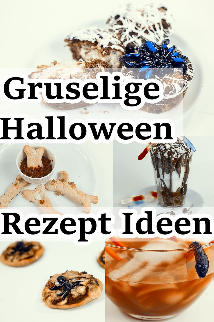 Halloween Rezepte Halloween rezepte, Rezepte und Halloween