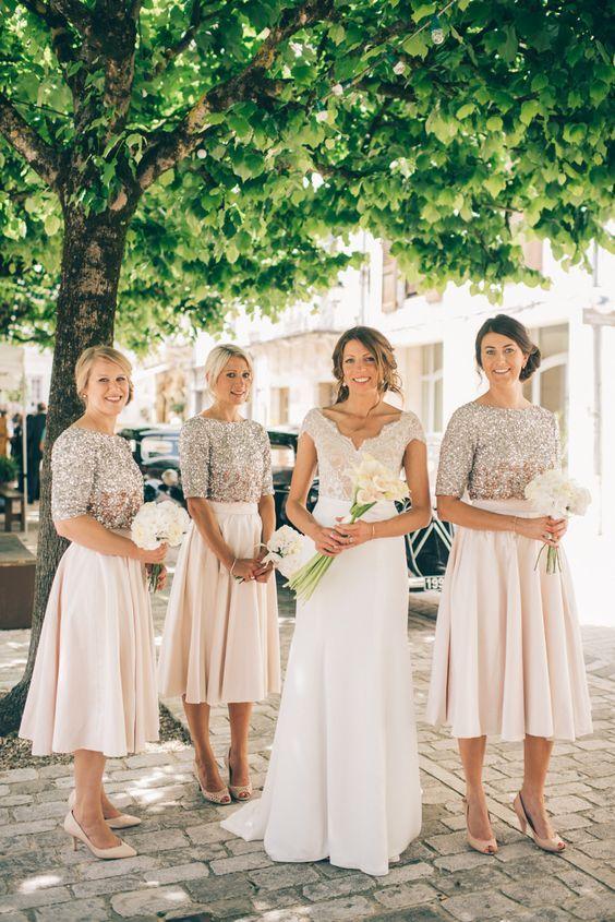 Bridesmaid Dresses Unique Ideas