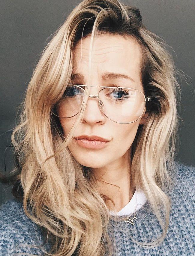 Pour ou contre les lunettes de vue aviateur ? (instagram Anouk Yve)