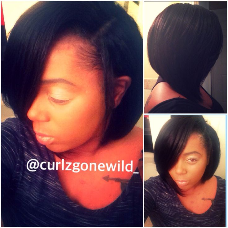 Sew In On Short Hair With Leave Out Best Short Hair Styles