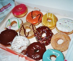 Why isn't there a Dunken Donuts here in San Fran? i miss it!