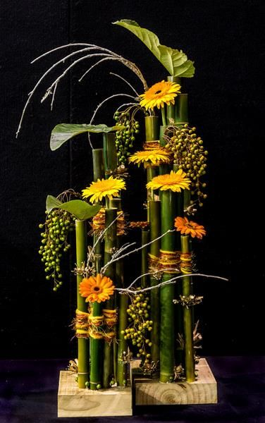 2nd place Marion Groth, Takapuna Floral Art Club