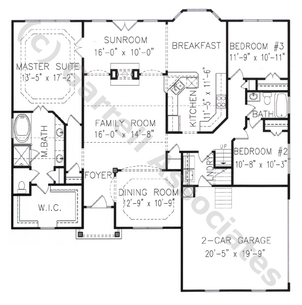 One story handicap accessible house plans house plans for Accessible house plans