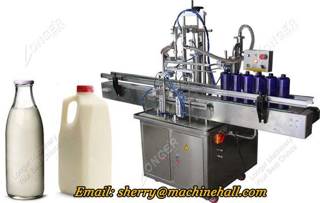 Automatic Milk Bottle Filling Machine For Sale Milk Bottle Glass Milk Bottles Bottle