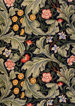 Wallpaper design, by William Morris © Victoria and Albert Museum / V Prints
