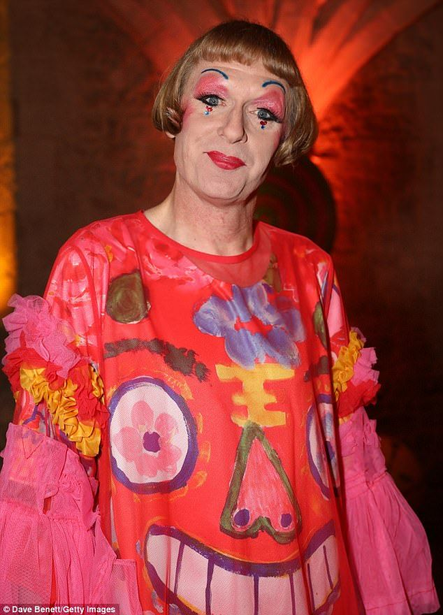 First cross-dressing contestant?Grayson Perry has revealed that he wasapproached by BBC bosses to appear on Strictly come Dancing