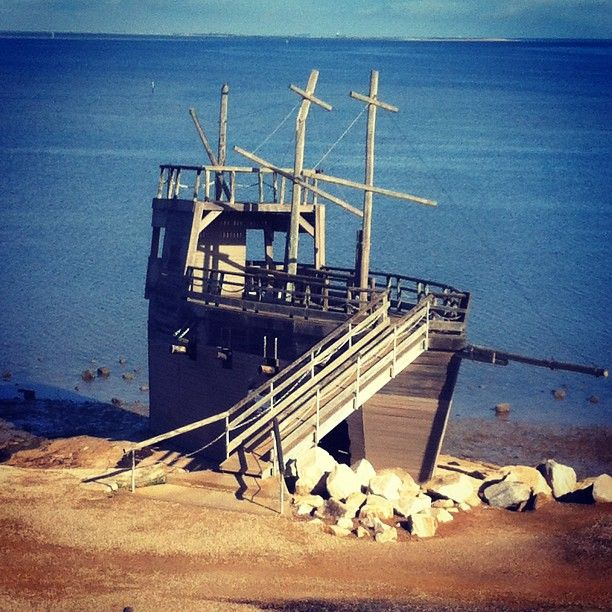 I went down to St Kilda Playground today and took a few photos which show the playground in Autumn. One of the most photographed icons of the playground, the Pirate ship - Photo by andrewecoulson @Rachel Gladis of Salisbury South Australia #StKildaPlayground