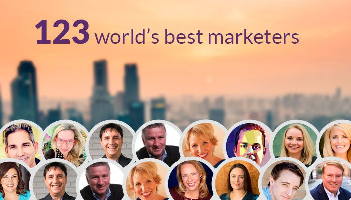 123 of the world's best & brightest marketers share their top social media marketing tools for 2018 - #socialmedia