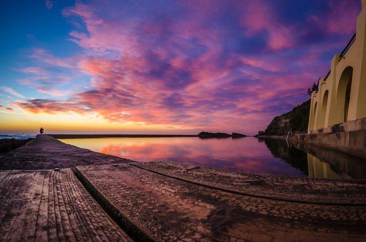 Thompson's Beach Rock Pool by Damien Davis / 500px