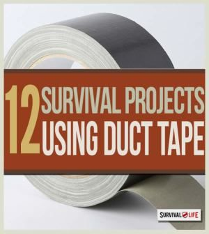 Duct tape can be used like a bandage or gauze as first aid | Essentials for your survival first aid kit. | http://survivallife.com/2014/11/26/duct-tape-ultimate-survival-tool/