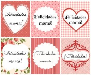 Etiquetas dia de la madre