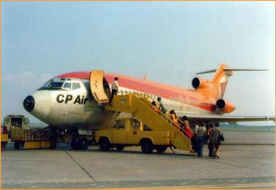 CP Air: CP Air's Fleet of Boeing 727's