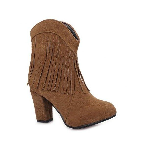 Best 25+ Fringe ankle boots ideas on Pinterest   Fringe boots ...
