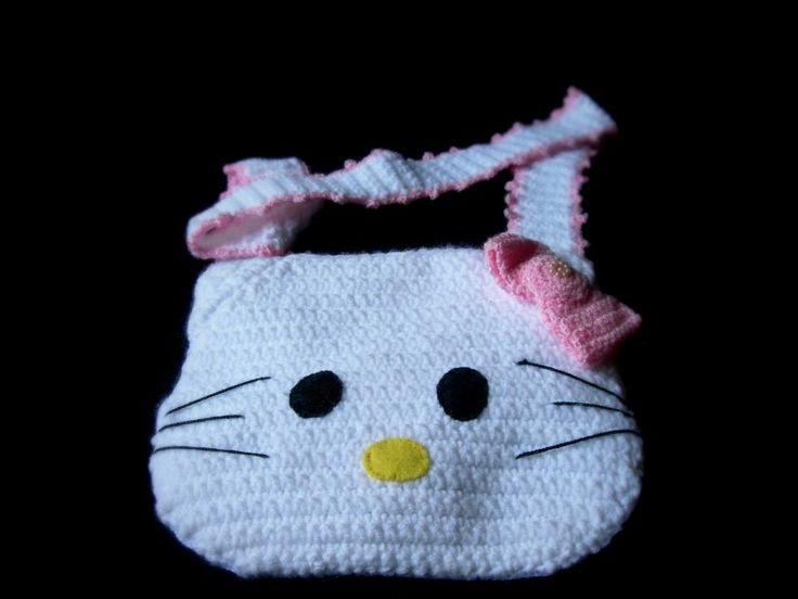 Este es un bolso Hello Kitty, especialmente diseñado para las amantes de este hermoso personaje. #HelloKitty #Bag #Accesorio #Bolso #Niña