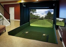 AboutGolf Indoor Golf Simulator #indoorgolf
