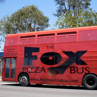 Website: thefoxpizzabus Truck Stop: Los Angeles, CA Concept: Wood-fired pizza oven on wheels. Chef-owner Mike Fox grew up eating from the food trucks in his native Los Angeles. So when dreaming up his own concept, he wanted to bring something new to the (roadside) table. The Fox Pizza Bus (launching this summer) will be the first souped-up double-decker pizza joint to hit the street-food scene, equipped with a custom-made wood-fired oven. Pizzas will be hot, seasonal, and perfectly charred.
