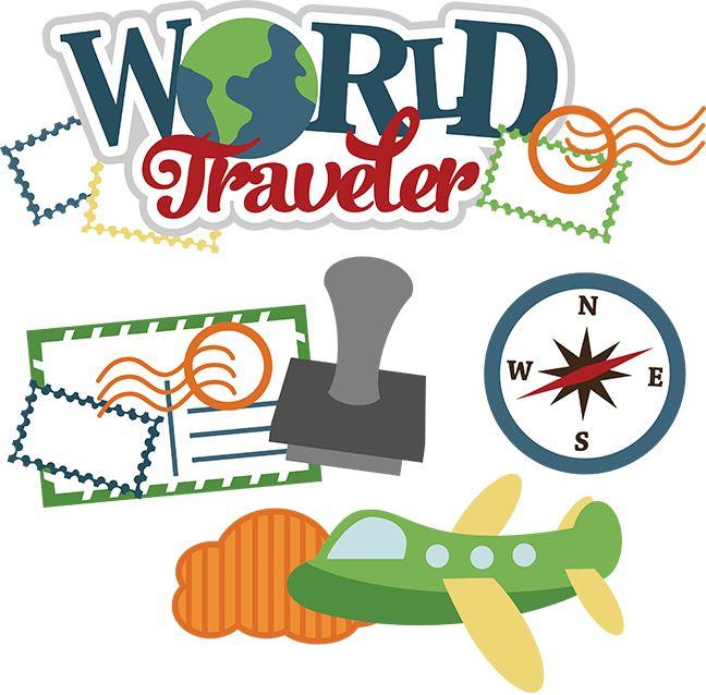 World Traveler SVG vacation svg file traveling svg files airplane svg file svg files for scrapbooking