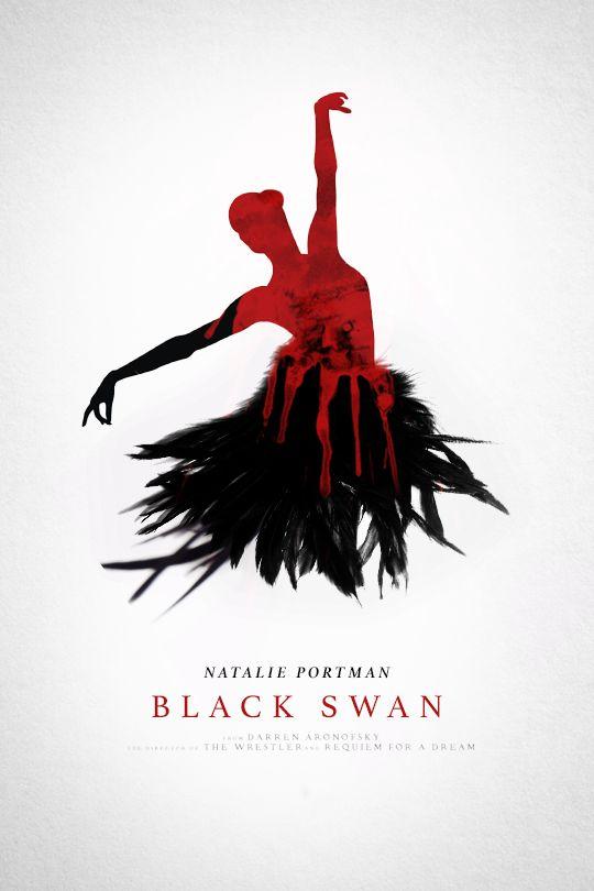 Black Swan - movie poster - Stain Girl