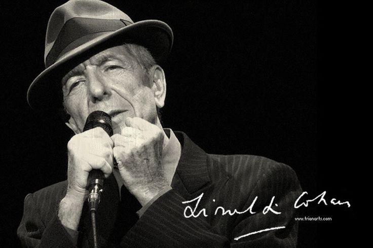 Leonard Cohen: A mil besos de profundidad - TrianartsTrianarts