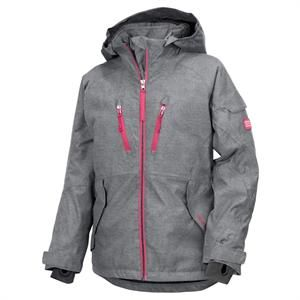 Pige vinterjakke Didriksons, Joan Girl's Vintage Jacket Denim.