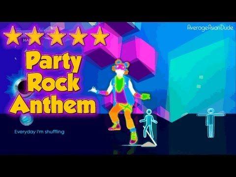 Just Dance 3 - Party Rock Anthem - 5* Stars, via YouTube.