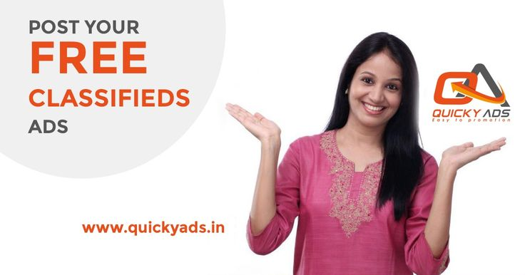 Generate More Online Traffic with Free advertising @Quickyads.in  To know more click here https://goo.gl/CYsUzS #Postads #Freeclassifedsites