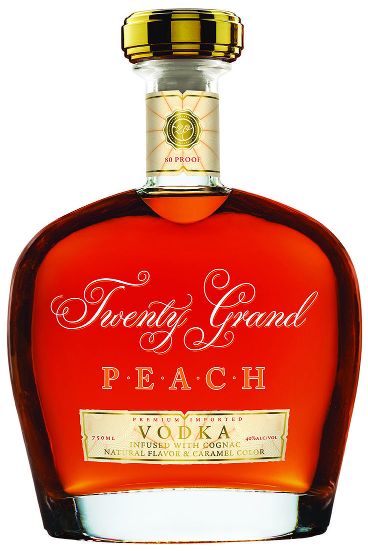 with cognac and peach flavors. An aroma of fresh, savory peaches ...