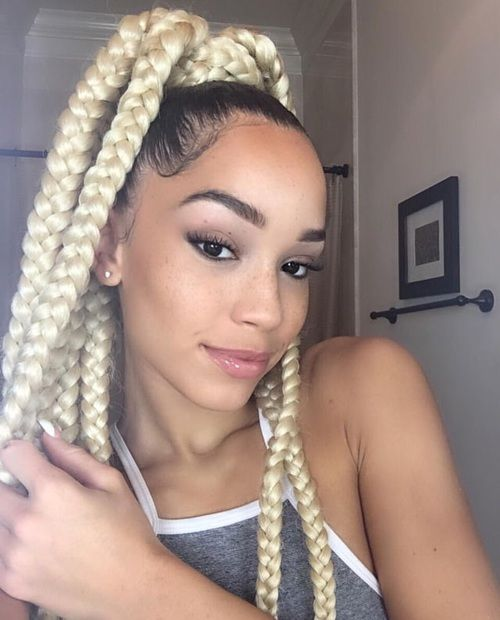 girls hair style picture best 25 jumbo box braids ideas on bo 238 te jumbo 7351 | eb8e523b7ba8d81400594ac7351d1dfd twisted hairstyles natural hairstyles